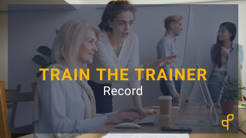 Train the Trainer Part 3: Recording 101