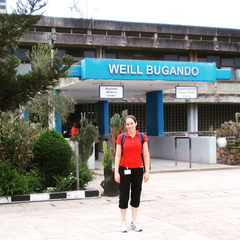 Maggie Bergeron, Physiotherapist at Bugando Hospital, Tanzania